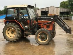 Traktor Zetor 7-245T Trima + Příslušenství (1632736362/4)