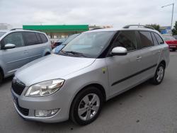 Škoda Fabia 1.6TDi,77kW,Fresh,serv.kn,aut.klima,vyhř.sedadla