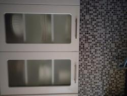 Kuchyňská linka - bílá lesk + spotřebiče (1633977086/5)