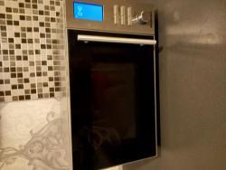 Kuchyňská linka - bílá lesk + spotřebiče (1633977088/5)
