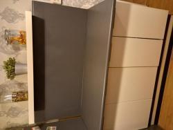 Kuchyňská linka - bílá lesk + spotřebiče (1633977090/5)