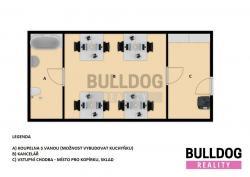 Administrativní objekt - ubytování pro zaměstnance 240 m2, parkování na pozemku, (6168032/30)
